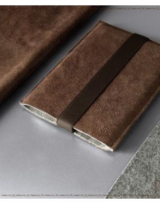 BROWNIE Leder und Filz iPad Mini Sleeve