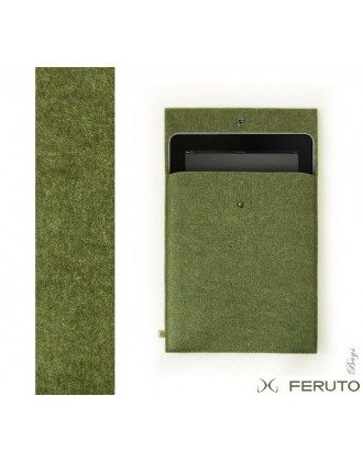 "DEEP FOREST 9,7"" iPad Pro german designer felt case"