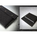 METROPOLIS German felt sleeve for 15'' Macbook Pro